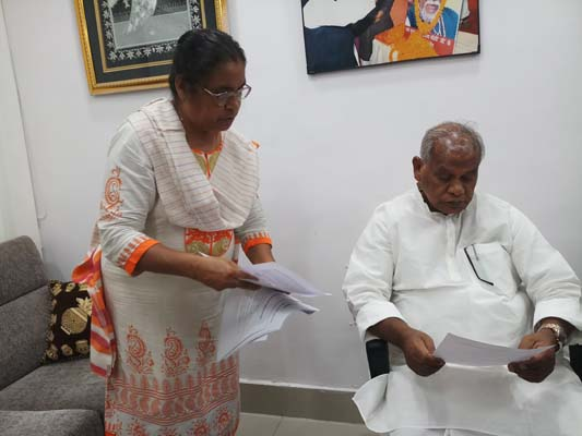 Dialogue with Shri Jitan RamManjhi
