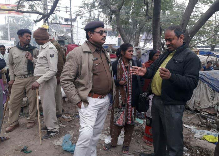 Eviction at Gayatri Mandir – Kankerbagh