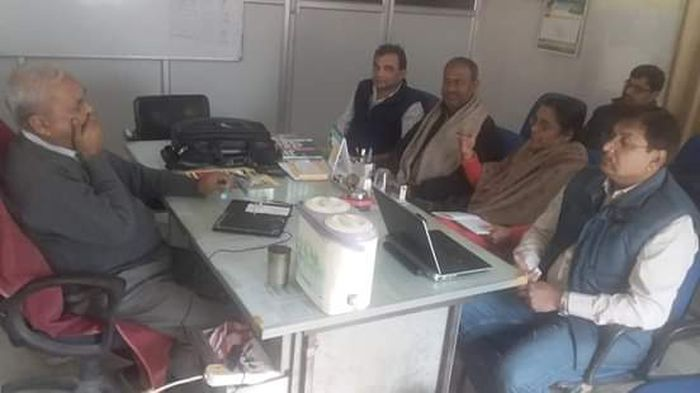 Meeting with the GOB for eradication of TB in Patna